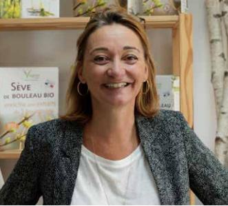 Cécile Picot, Vegetal Water, Ecouflant : un bouleau ressourçant