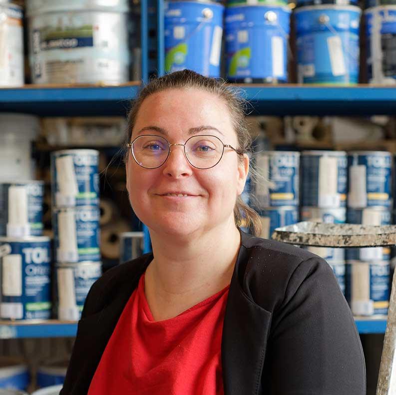 Johana Biseux, Baudon, Cholet : l'entreprise de peinture reprend des couleurs