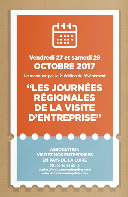 Célèbre Journées régionales de la visite d'entreprise les 27 et 28 octobre  TR01