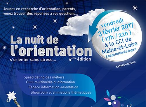 Nuit de l'orientation Angers