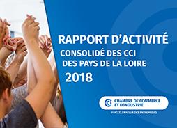 Rapport d'activité des CCI Pays de la Loire 2018