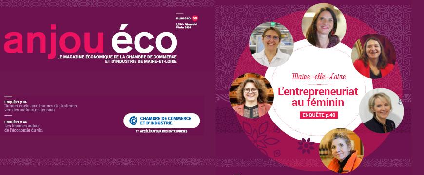 Anjou éco n°58 - janvier 2020