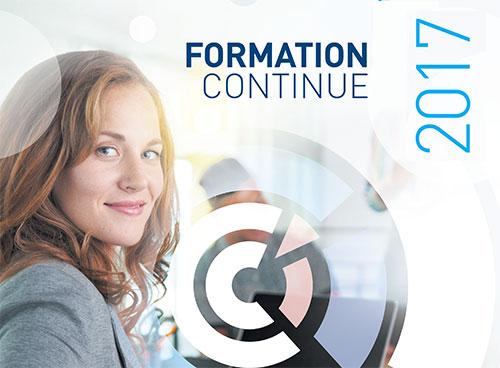 PLUS DE 150 STAGES DE FORMATION CONTINUE en 2017