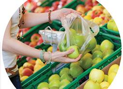 Fin des sacs plastique à usage unique dans les commerces
