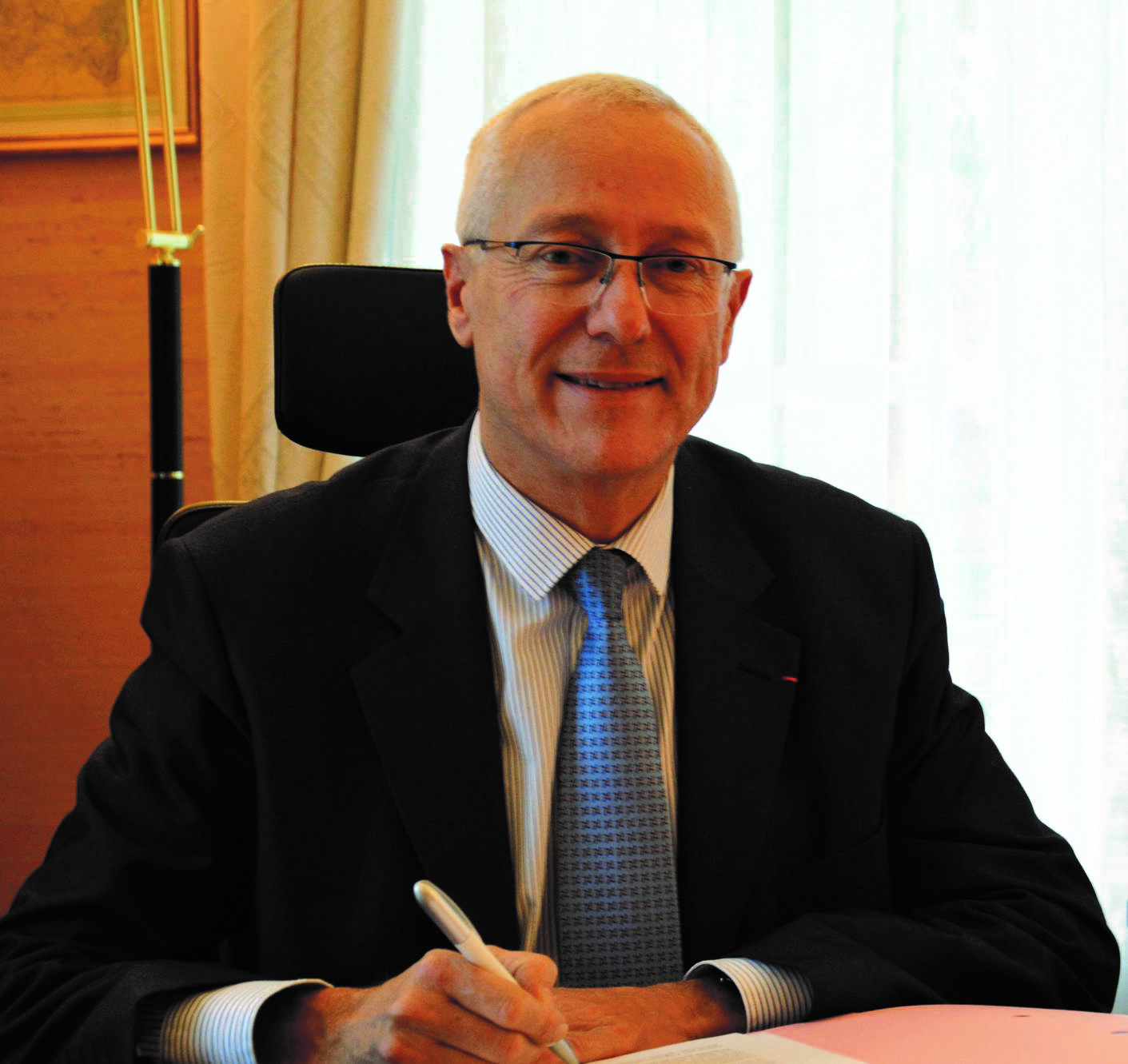 Pierre Ory, nouveau préfet de Maine-et-Loire