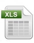 Fichier des créations mensuelles du Maine-et-Loire - Abonnement annuel