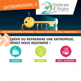 Entreprendre à Ombrée d'Anjou