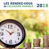 Les Rendez-vous 2018 de l'économie durable