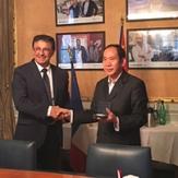 Convention de partenariat entre la CCI49 et Shenzhen Intitute of Technology !