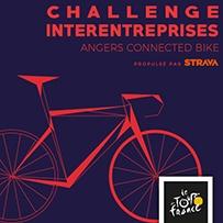 Challenge Interentreprises Angers Connected Bike