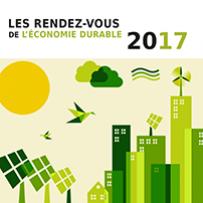 Les Rendez-vous 2017 de l'économie durable