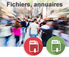 Fichiers annuaires