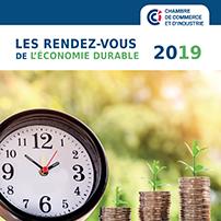 Les rendez-vous 2019 de l'économie durable