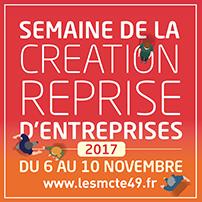 semaine de la Création Reprise d'Entreprises du 6 au 10 novembre 2017