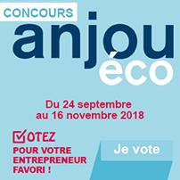 Concours Anjou Eco : Votez pour votre entrepreneur favori !